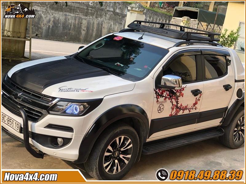 Lời khuyên mua baga mui cho xe bán tải Navara Colorado BT50 Ford Ranger Dmax Hilux Triton ở tp HCM