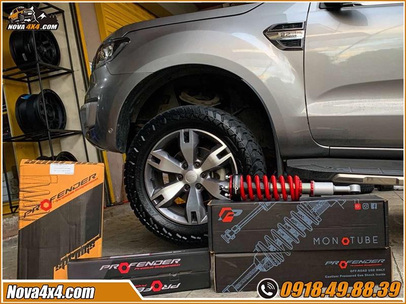 Độ phuộc Profender xe bán tải siêu đỉnh tại shop Nova4x4