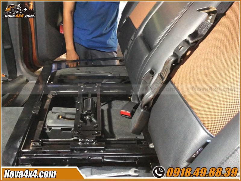Lưu ý khi độ ghế chỉnh cơ cho xe bán tải tại HCM