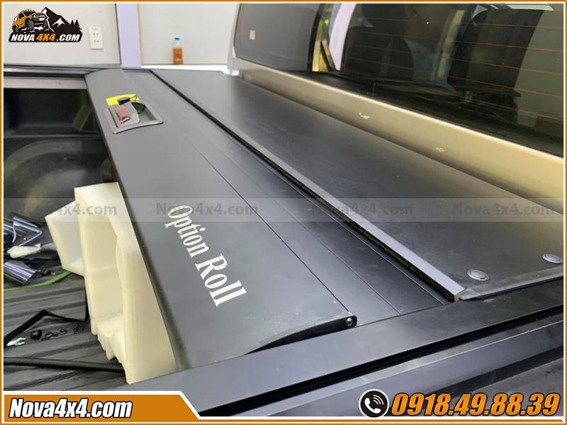 Nguyên nhân chọn nắp thùng cuộn Option Roll Xe bán tải giá tốt tại workshop Nova4x4