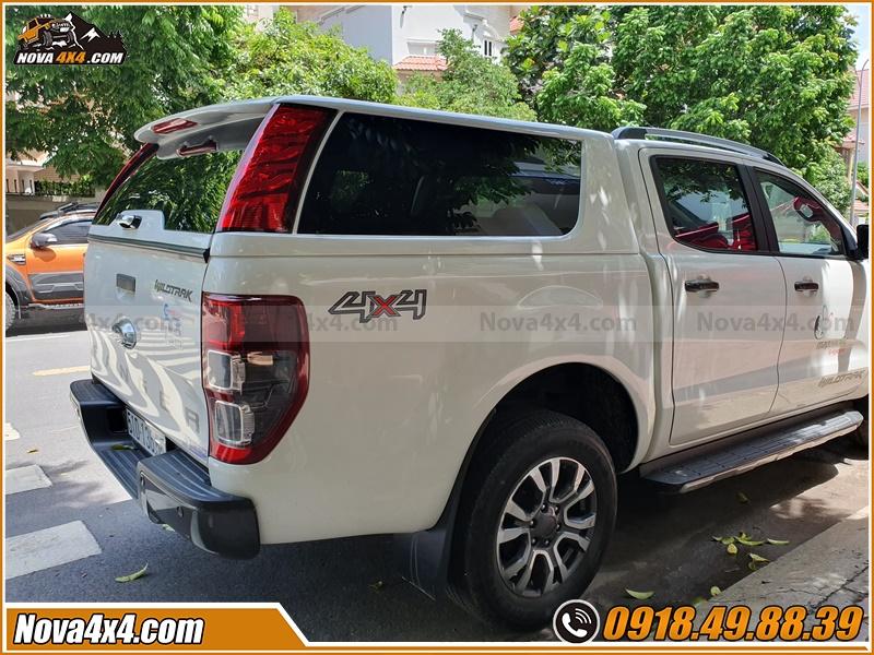 Lắp nắp thùng Xe bán tải Triton Colorado Dmax Ford Ranger Hilux BT50 Navara có tác dụng gì?